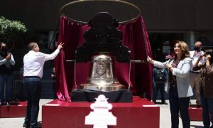 campana, hidalgo, replica