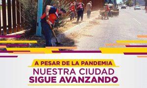 pavimentación, Mexicali, colonias