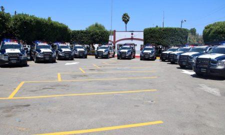 entrega, unidades patrullas, Delegación La Mesa,