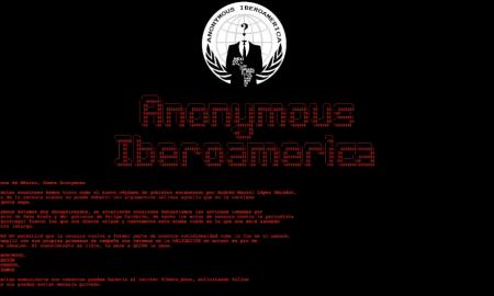 Anonymous, hackeao, Conapred, AMLO, software, gobierno