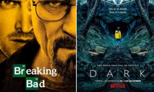 Breaking bad, Dark, series, Netflix, twitter, tendencia, opinión