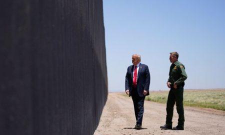 Donald Trump, muro fronterizo, Covid-19, pandemia, crimen organizado, violencia, racismo