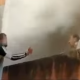 jóvenes, rescatan, incendio, llamas, rescate, Francia, video viral