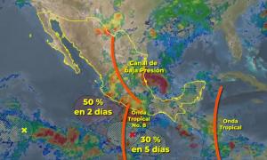 SMN, lluvias, México, medio ambiente, estado del tiempo
