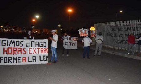 trabajadores, Nissan, Aguascalientes, despido injustificado, despidos, derechos humanos, protestas