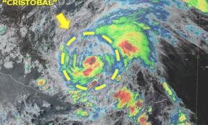 Cristóbal, tormenta tropical, siniestro, Ciudad del Carmen, lluvias, México