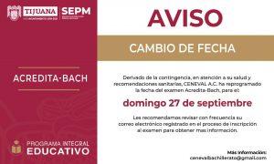 reprogramación, examen CENEVAL, XXIII Ayuntamiento,