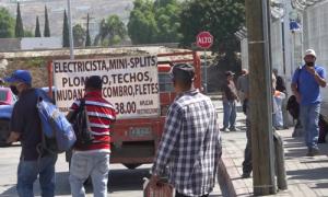 Albañiles, Trabajo, pandemia,