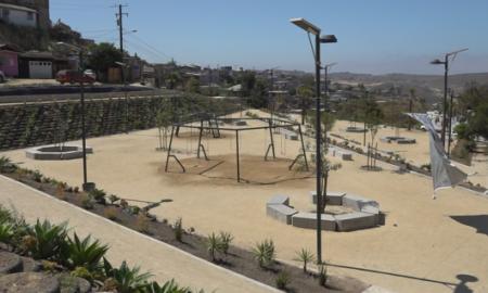 parque, colonia Xicoténcatl Leyva, arroyo,