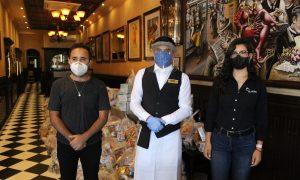 entrega, donaciones, pandemia