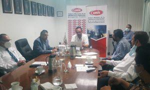 Sest, CMIC, Mario Escobedo, junta, contrucción