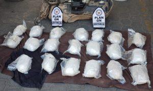 decomiso, Guardia Nacional Mexicali, metanfetamina