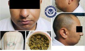 decomiso, marihuana, detenido
