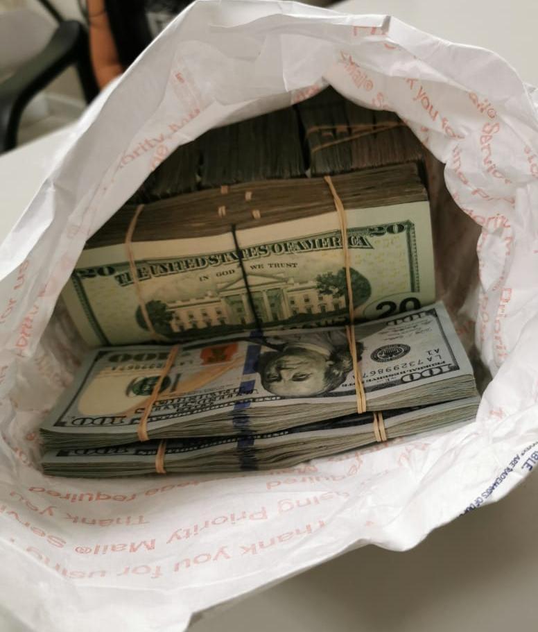 ilegal, ingreso, garitas, decomiso, dólares
