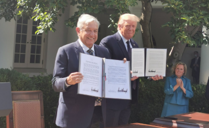 T-MEC, AMLO, Donald Trump, Tratado, viaje, Washington