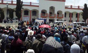 manifestantes, Chiapas, Covid-19, Bill Gates, salud pública