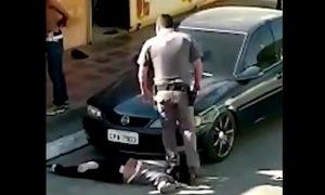 policía, abuso policiáco, violencia, racismo, violencia contra la mujer, Sao Paulo, Brasil