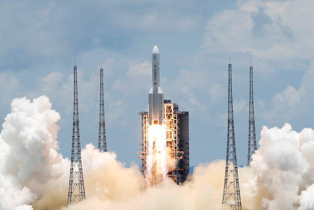China, cohete, Marte, exploración, misión espacial, espacio
