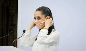 Claudia Sheinbaum, semáforo verde, CDMX, noticias falsas, fake news, twitter, conferencia matutina