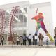 Texcoco, escuela, béisbol, AMLO, Sandra Luz Falcón