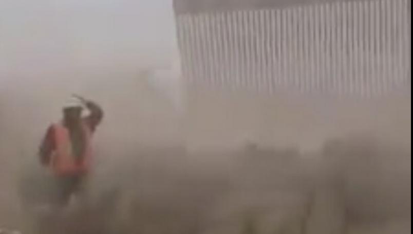tormenta tropical, Hanna, muro fronterizo, frontera, EEUU, México