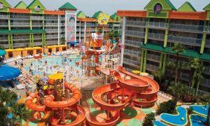 hotel, Nickelodeon, Rivera Maya, Quintana Roo, Nickelodeon Hotels & Resorts, Bob Esponja