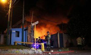 siniestro, incendio, Morelos, fábrica, cosméticos, Industrias Lavín