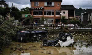 Japón, inundaciones, deslaves, siniestro, damnificados