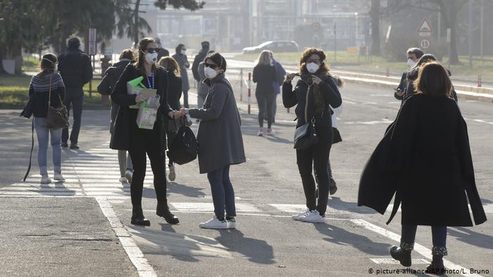 Italia, multa, mascarilla, cubrebocas, contingencia, covid-19, pandemia