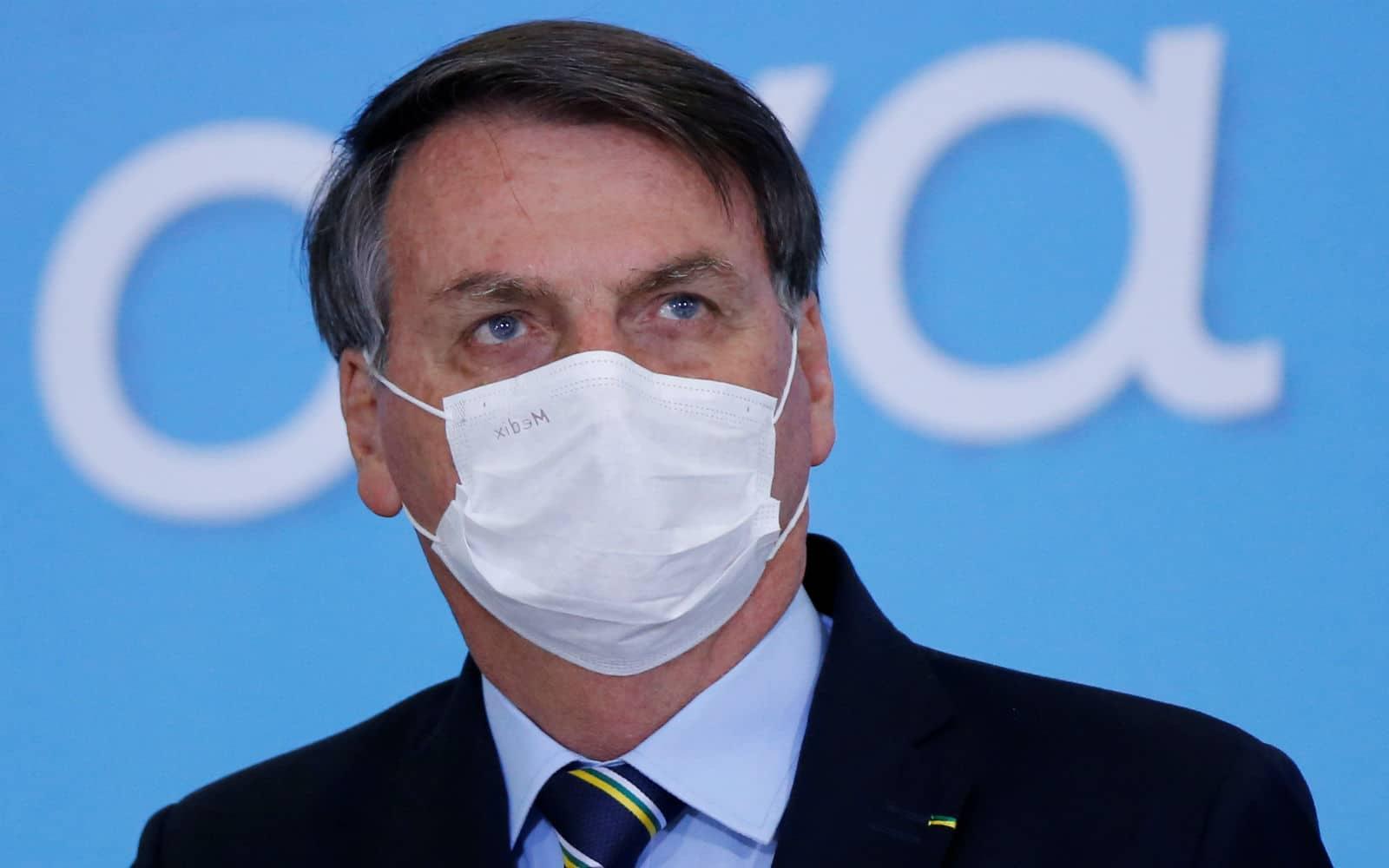 Jair Bolsonaro, Covid-19, Brasil, positivo, pandemia, salud, contagio