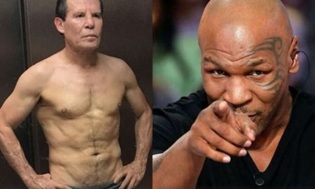 Julio César Chávez, Mike Tyson, pelea, exhibición, box, encuentro