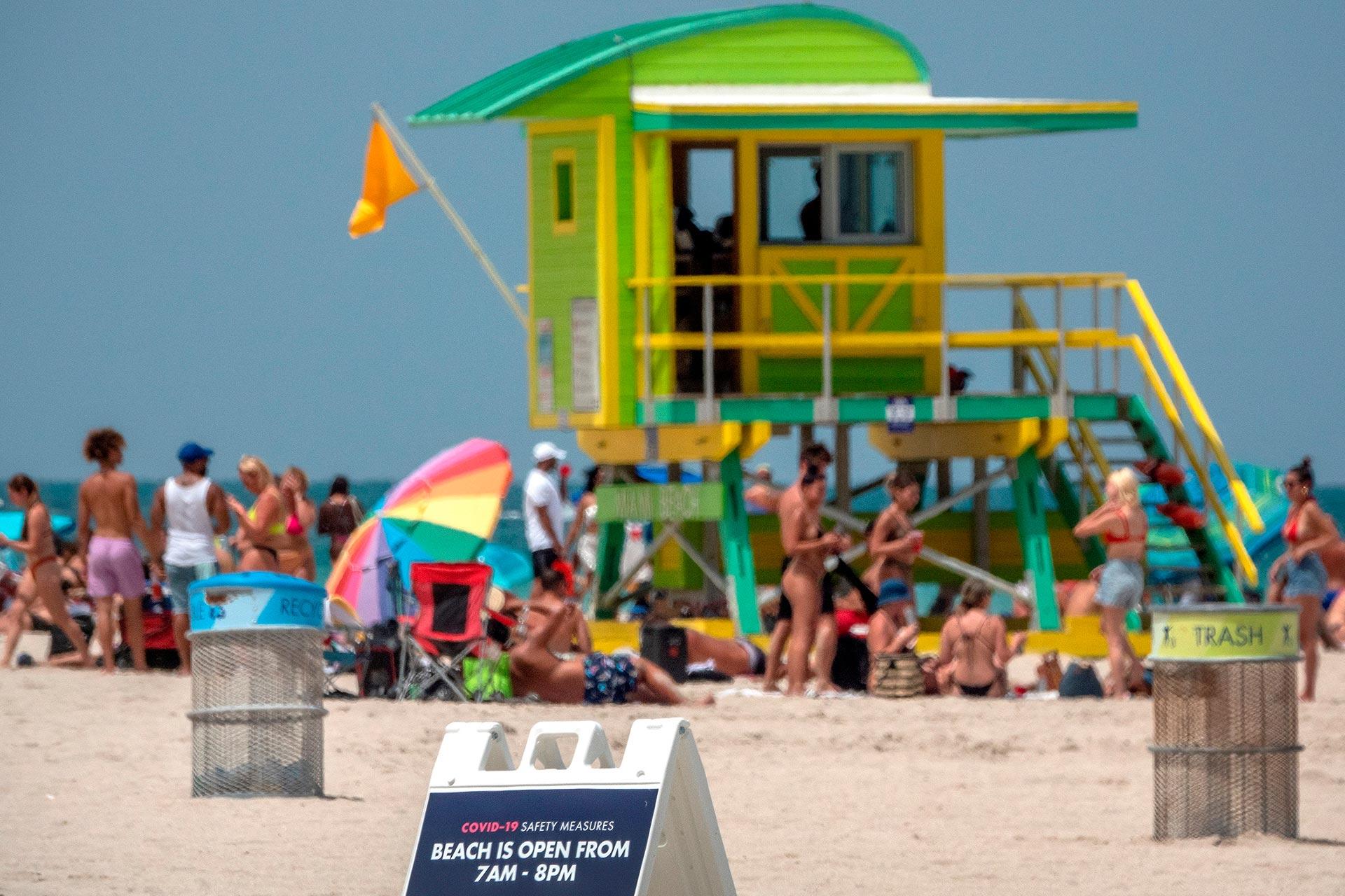 Miami, epicentro, pandemia, Playas, contagios, salud pública, Florida