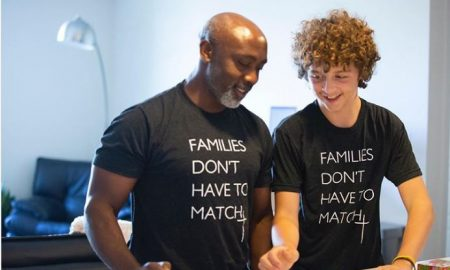 Padre negro, hijo blanco, familia, Tony Mutabazi, Peter Mutabazi