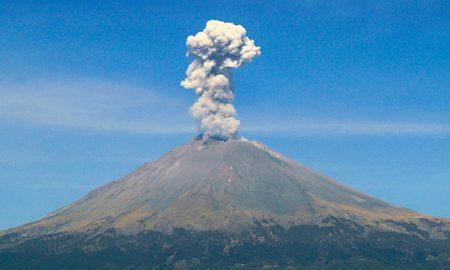 Popocatépetl, alta actividad, cenizas, volcán, alerta, Cenapred