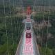 China, puente, cristal, inauguración, infraestructura