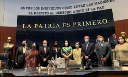 Senado, ratificación, embajadores, Belice, España, Irán, Serbia