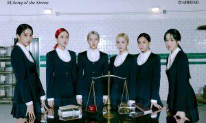 GFriend, fotos, Song of the sirens, fotografía conceptual, arte, Corea del Sur