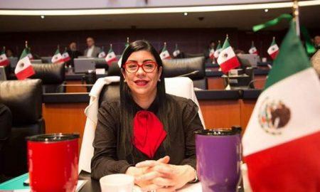 Vanessa Rubio, pide, solicita, licencia, senadora, Senado, México