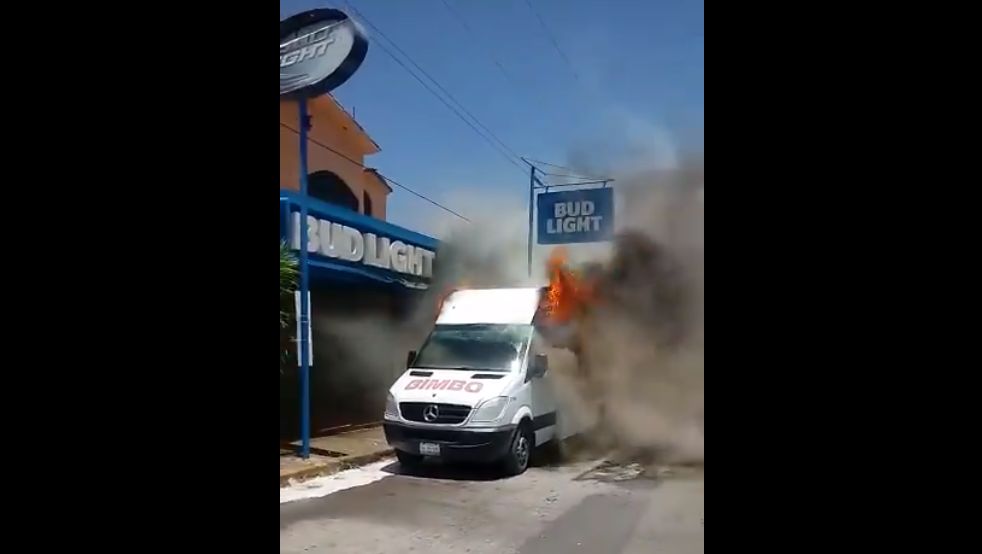 camiones, Grupo Bimbo, delincuencia, violencia, armas de fuego, Ciudad Victoria, Tamaulipas