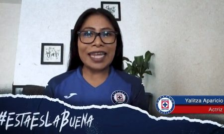 Yalitza Aparicio, mensaje, Cruz Azul, video, esta es la buena, liga