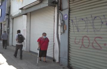 Covid-19, Comercios zona centro, cierre de locales,