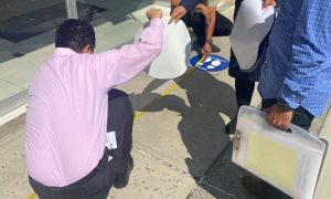 operativo de inspección, Plaza rio, Clausura,