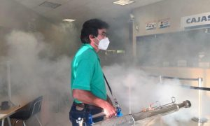 CESPT, desinfección, áreas