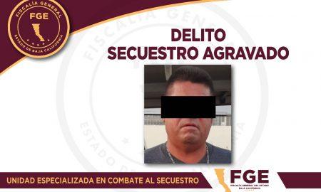 FGE, detenido, Secuestro,