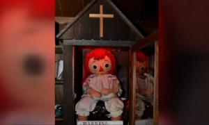 Annabelle, escapa, especulaciones, museo Warren, Connecticut, EEUU, misterio, tendencia