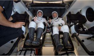 Astronautas, SpaceX, NASA, Bob Behnken, Doug Hurley, llamadas, océano