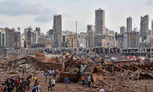 estado de emergencia, Beirut, Gobierno Líbano, explosión, desastre, damnificados