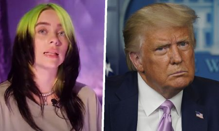 Billie Eilish, Donald Trump, pop, cantante, EEUU, política