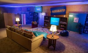 Blockbuster, espacio, Airbnb, retro, nostalgia, tendencia, twitter
