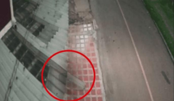 video, fantasma, Tintín, Bogotá, Colombia, viral